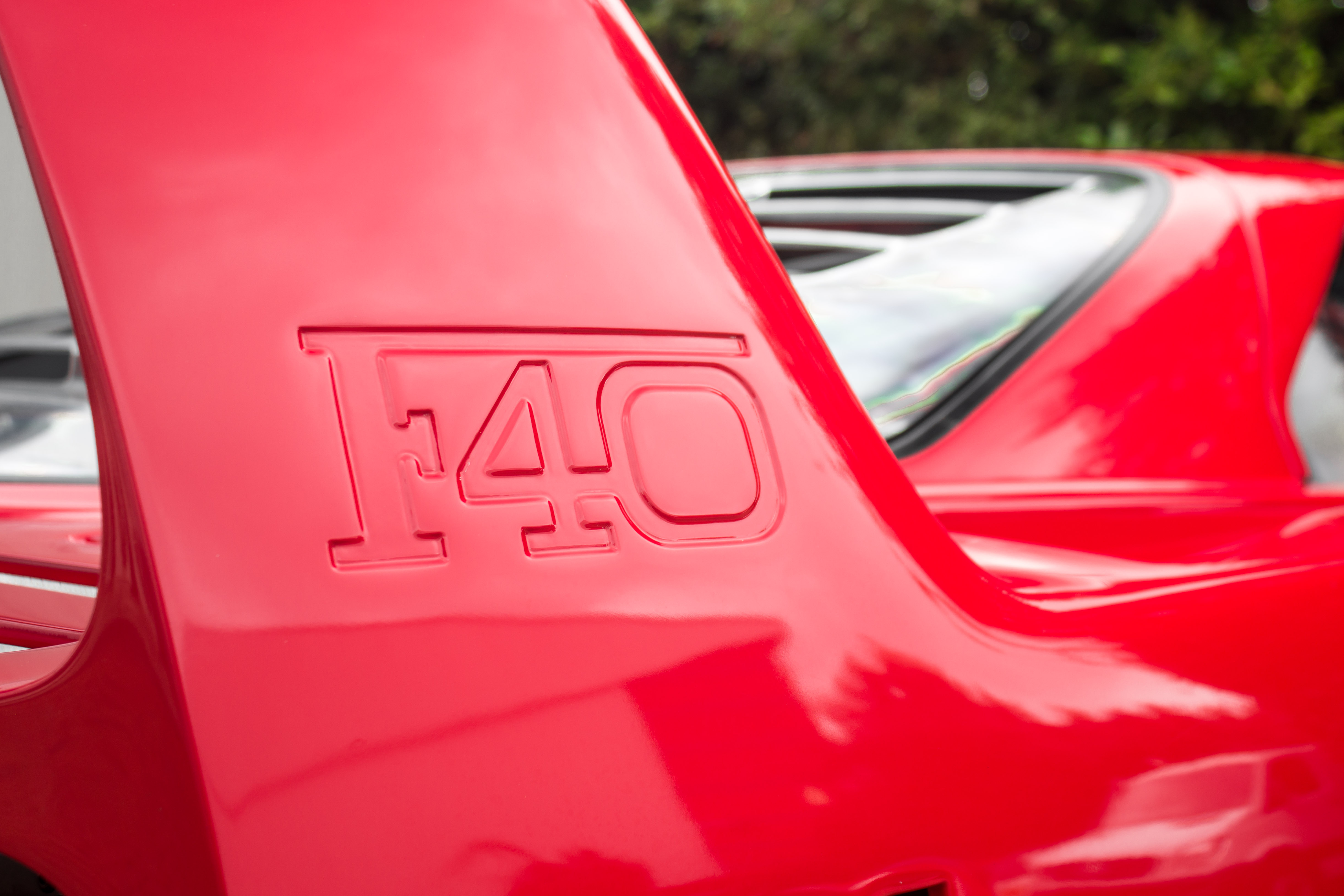 Ferrari F40 Rear Wing />